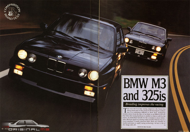 BMW M3 vs 325is