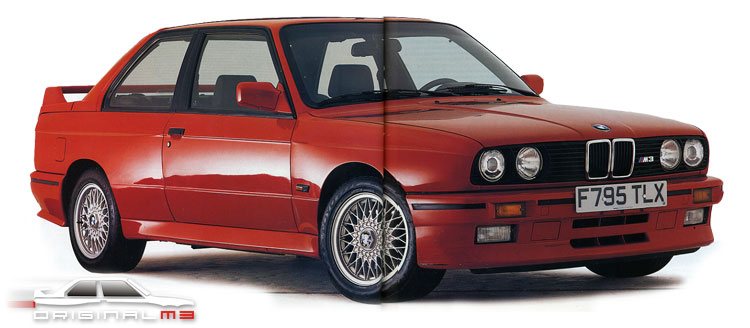 The Joy of the Original BMW M3